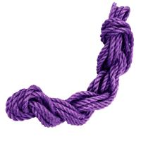 紅椿 妖色ジュート麻縄(紫)