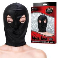 マインドバインド(光沢ストレッチ)目開きマスク