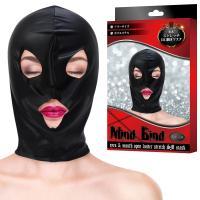 マインドバインド(光沢ストレッチ)目口開きマスク