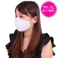 日本製 涼やかメッシュマスク ホワイト
