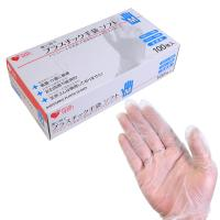 プラスチックグローブ M (100枚入り)