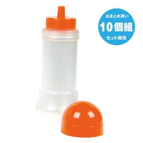 空容器 10個組 200ml オレンジキャップ
