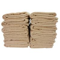 Bath towel 12 sheets (mocha) 600 匁