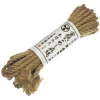 最高級プロ用 蜜蝋なめし麻縄(七米)
