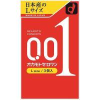 Okamoto Zero One 【L size】 3 pieces to be announced