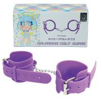 Silicone 【Belt】 Cuffs (Purple)