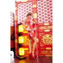 イイ女情熱真紅チャイナドレスセットの画像(3)