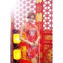 イイ女情熱真紅チャイナドレスセットの画像(4)