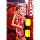 イイ女情熱真紅チャイナドレスセットの画像(5)