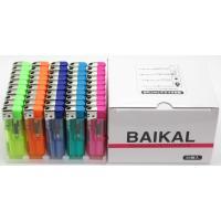 プッシュ式電子ライター(50本組) BAIKAL